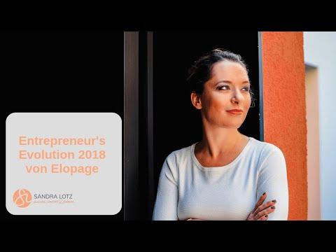 Sandra Lotz bei Elopage Entrepreneur Evolution 2018