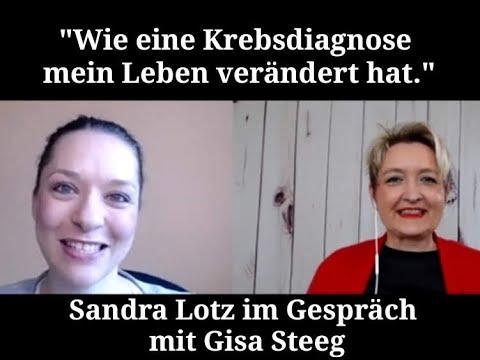 """""""Wie eine Krebsdiagnose mein Leben verändert hat"""" - Sandra Lotz im Interview"""
