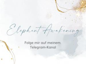 Sandra Lotz Telegram-Kanal Elephant-Awakening